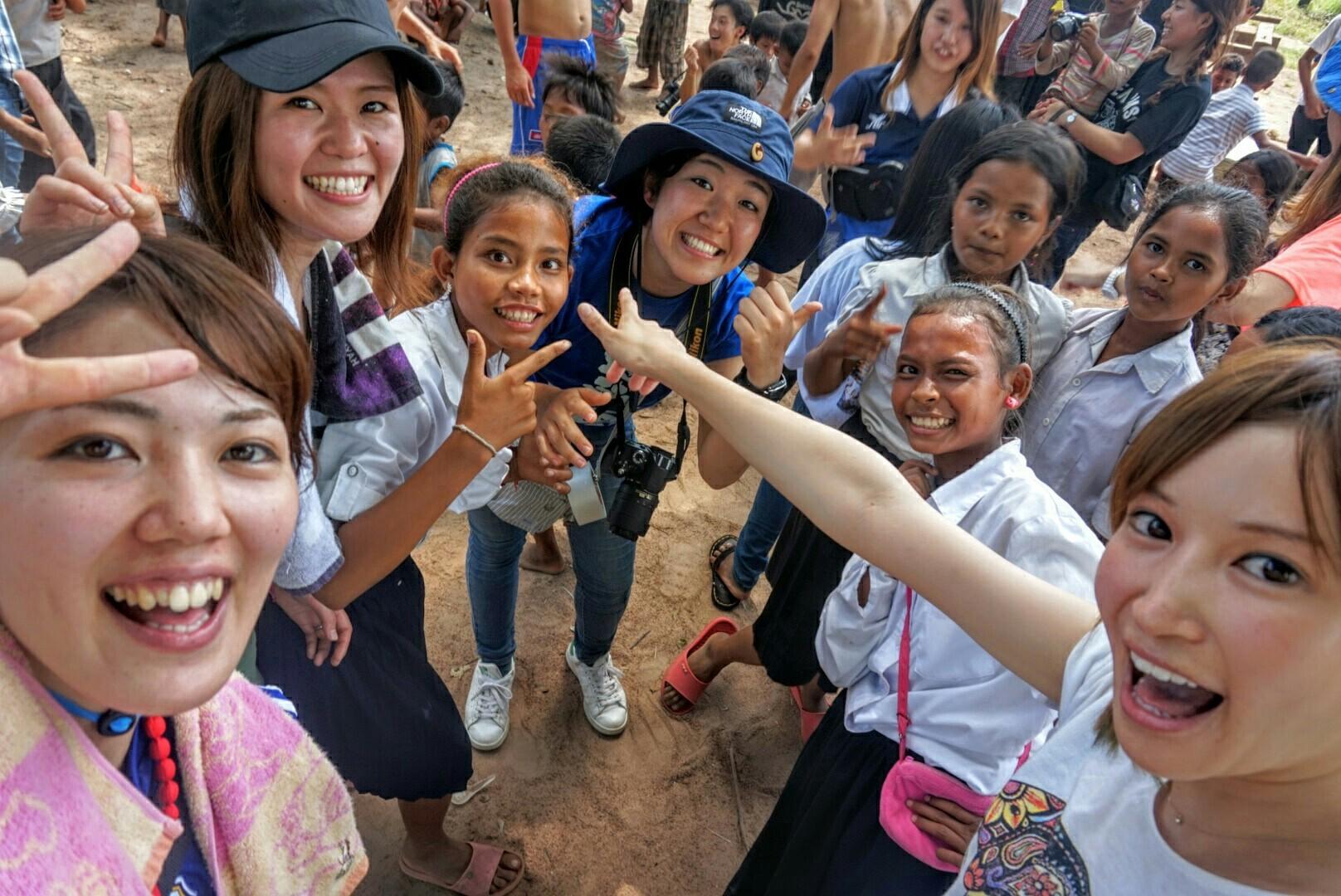 カンボジア地雷問題を検証するツアーを担当